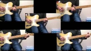 イントロのギター部分のみ、どこまで再現できるか挑戦してみました。 ちなみに全て耳コピです。コピー譜とか色々出てますが他人の耳は信用...