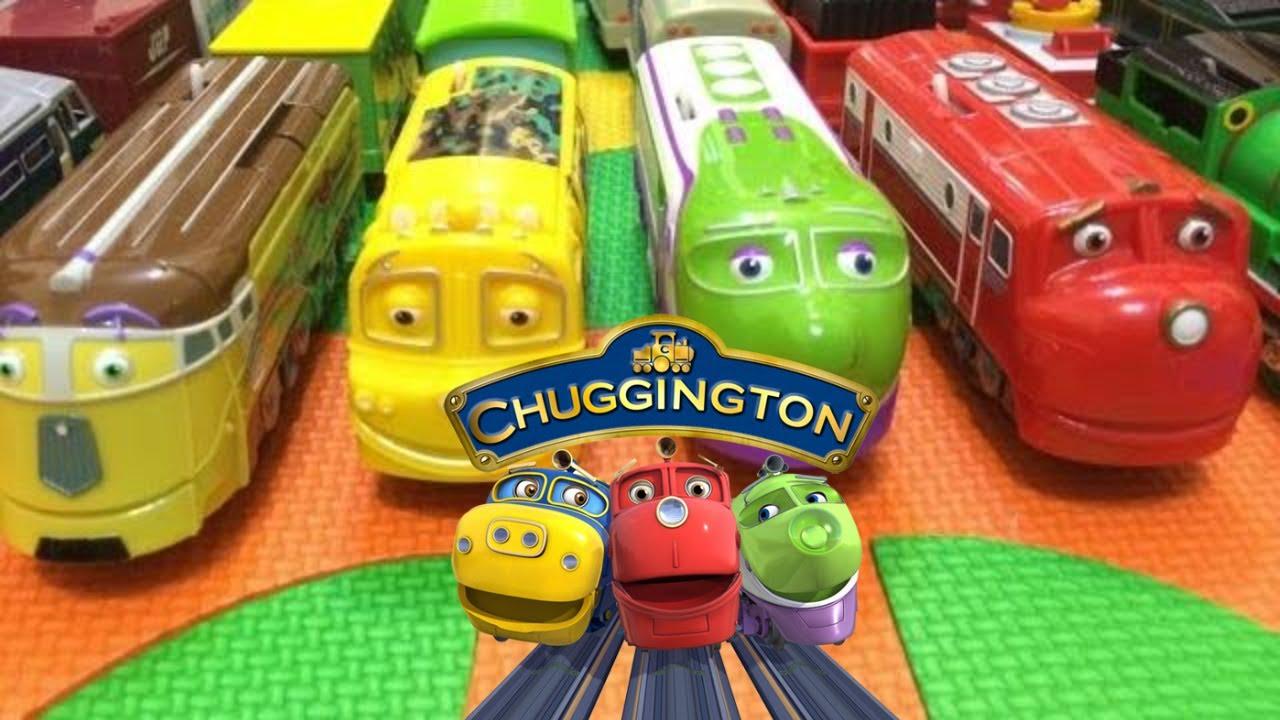 trenes de juguete】14 Trenes Chuggington con Inglés para niños ...