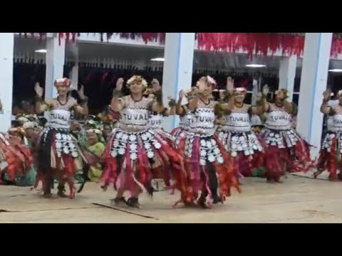 Download Nukulaelae opening fatele at Pacific Islands Forum - 2019