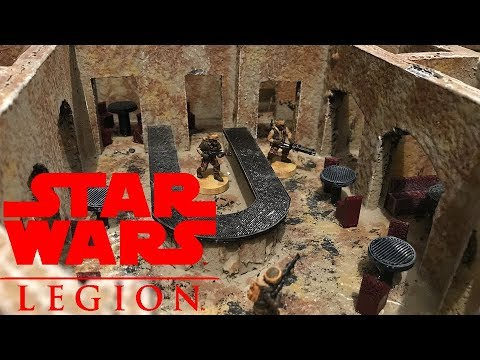 Star Wars Legion Mos Eisley Cantina Build