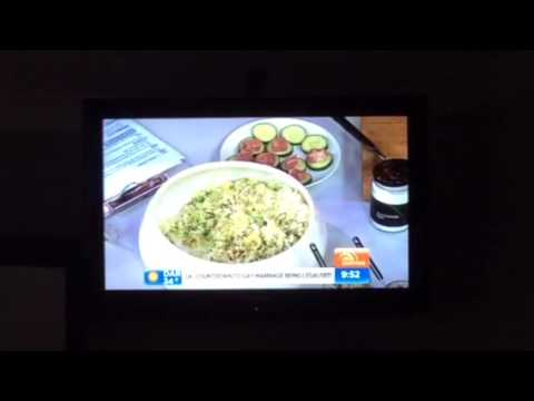Pete Evans on sunrise making sauerkraut and raw food health