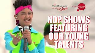 Mindchamps Académie of Stars - Our Young Talents In Upcoming NDP