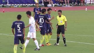 2017年9月30日(土)に行われた明治安田生命J1リーグ 第28節 広島vs札...