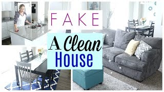 Video How to FAKE a Clean House| How to CLEAN FAST! download MP3, 3GP, MP4, WEBM, AVI, FLV Agustus 2017