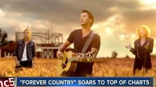 """Nashville Shines In CMA's """"Forever Country"""" Music Video"""