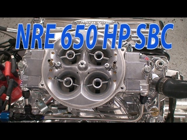 New 650 HP NA 427CI(7L) SBC from Nelson Racing Engines  NRE TV Episode 211