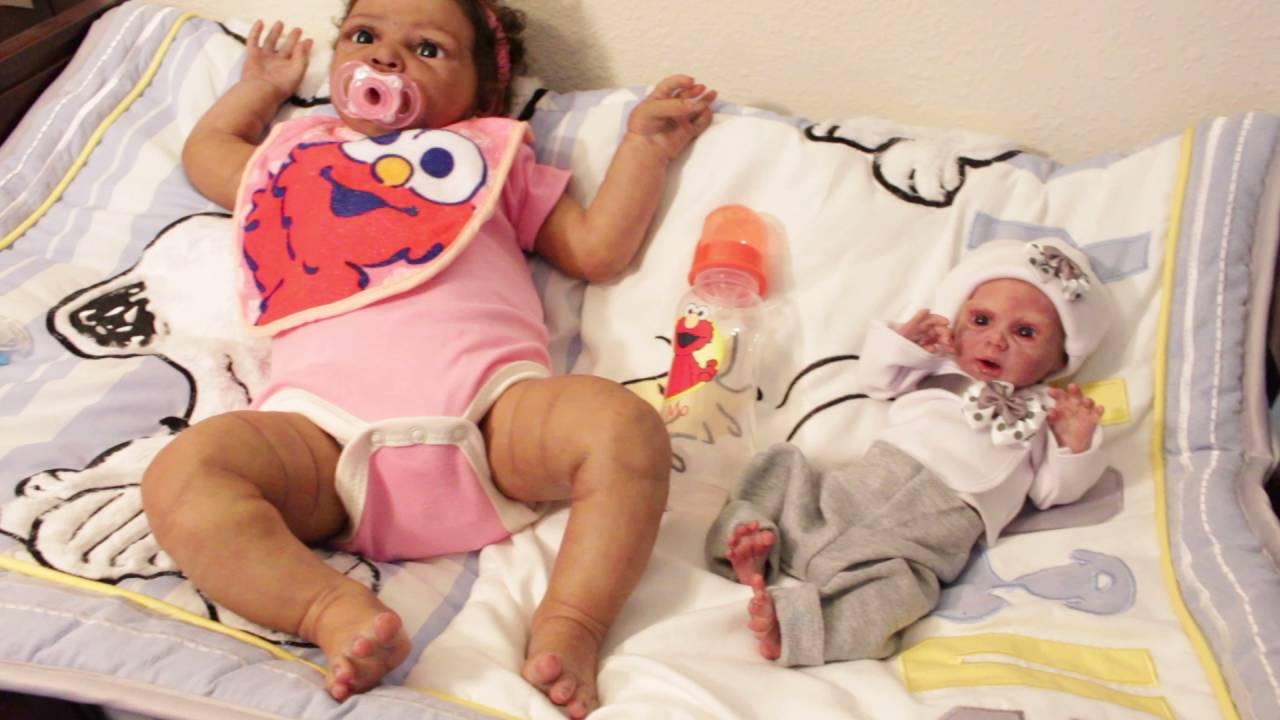 Silicone Baby Serena Mia Preemie Clothes Youtube