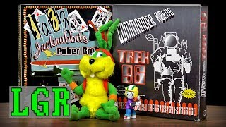LGR - Jazz Jackrabbit's Poker Broker? Commander Keen's Trek?! WTF