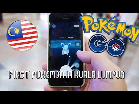 Pokemon Go in Malaysia - First Pokemon in Kuala Lumpur