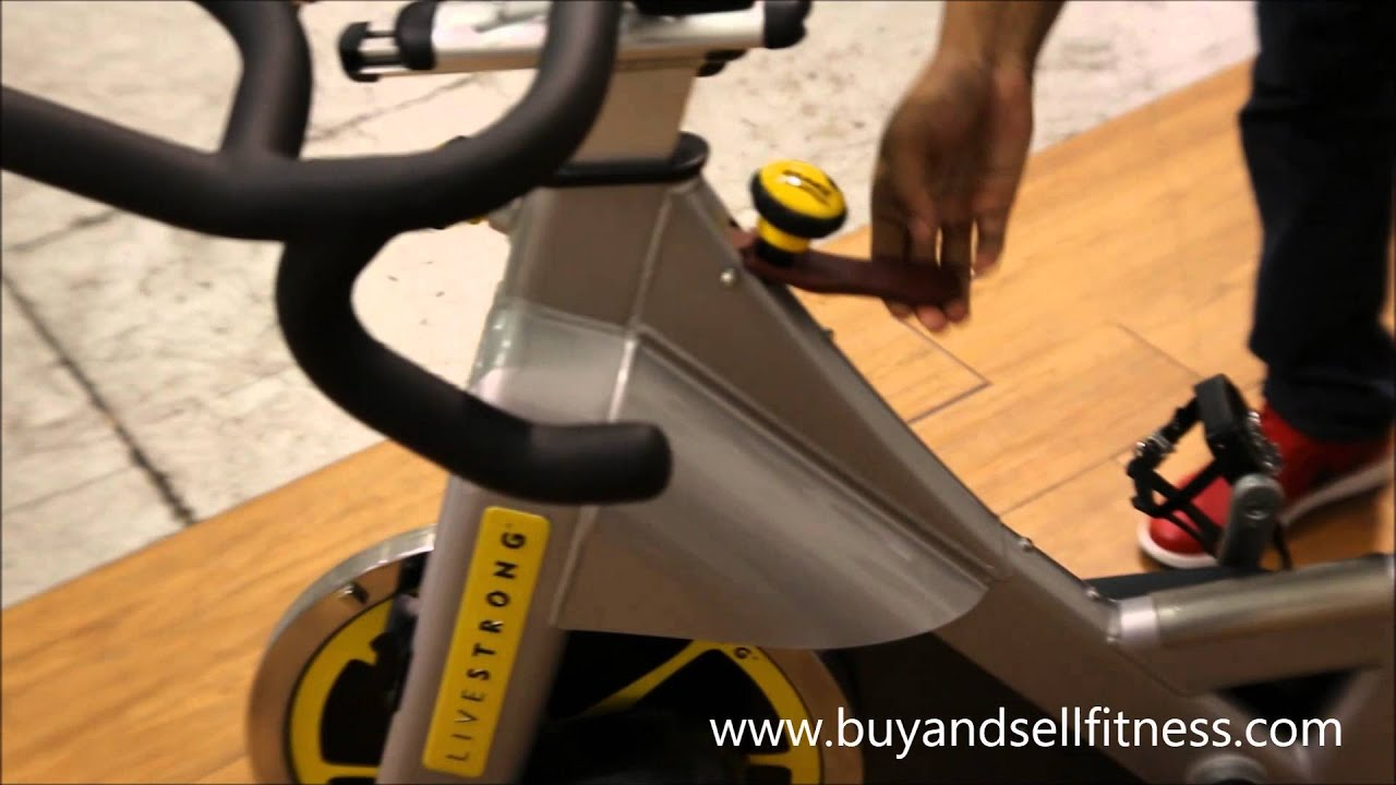 matrix livestrong s series spin bike youtube. Black Bedroom Furniture Sets. Home Design Ideas