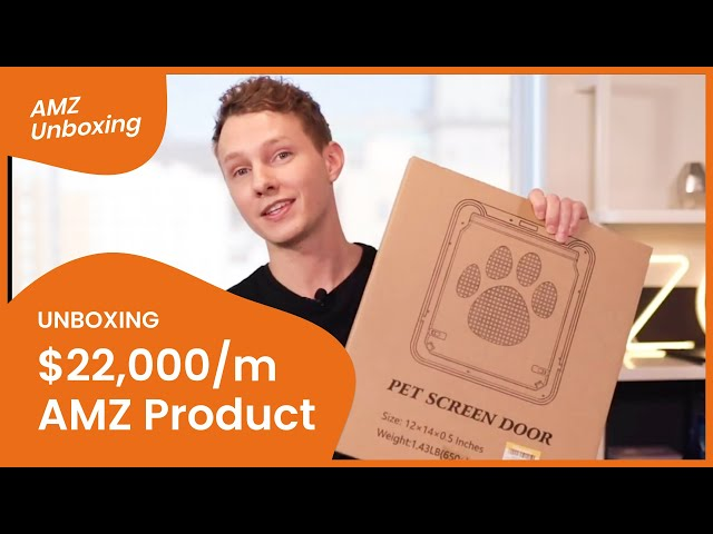 $22,000 MONTHLY REVENUE Unboxing an Amazon Best-Seller 🔎📦 #AmazonFBA