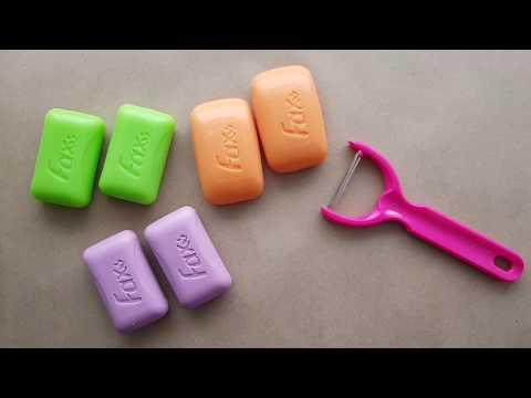 Как сделать цветочки из мыльных пластинок для АСМР видео.