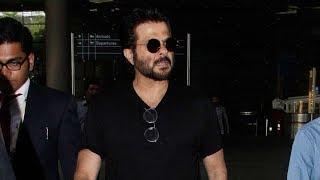 Anil Kapoor Spotted At Mumbai Airport