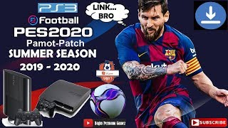 Pamot Patch  2020 PES 2018 Summer Transfer 2019-2020 [PS3]