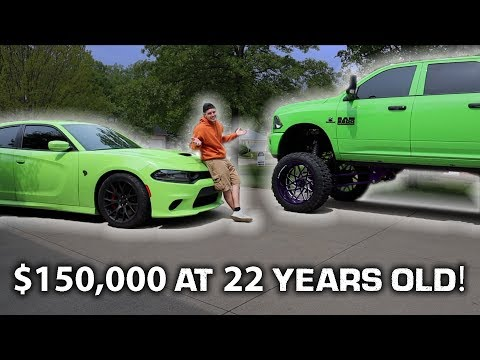 HOW I AFFORD $150K IN CARS AT 22!!  *YOU CAN TOO*