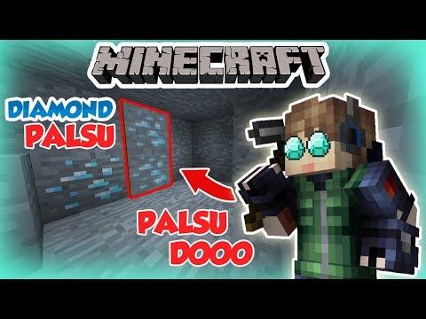 Image of DIAMOND PALSU DI MINECRAFT??