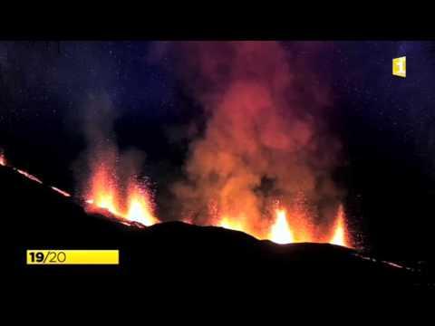 JT Reunion Première - Volcan