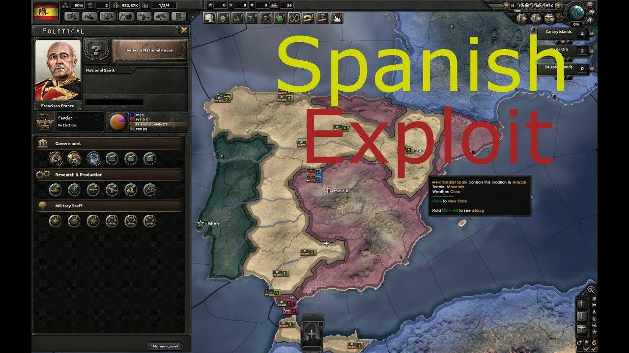 OP Spain Tutorial | HoI4 Exploit