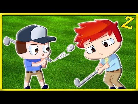 MAX AND TIM GO GOLFING!!   Cloudlands VR Minigolf [HTC Vive Virtual Reality]
