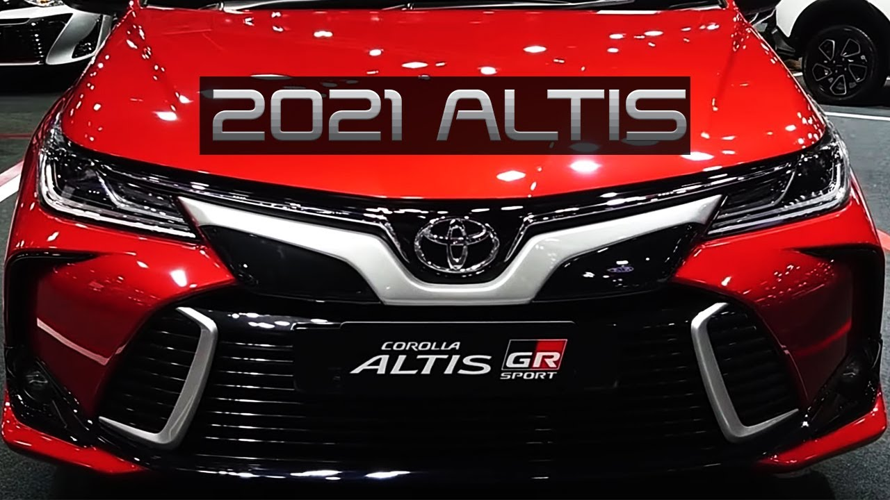 2021 toyota corolla altis  improving feature with the
