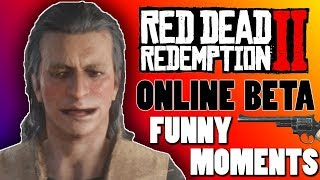 Red Dead Redemption 2 ONLINE Funny Moments - OUR HISTORY OF AMERICA!!