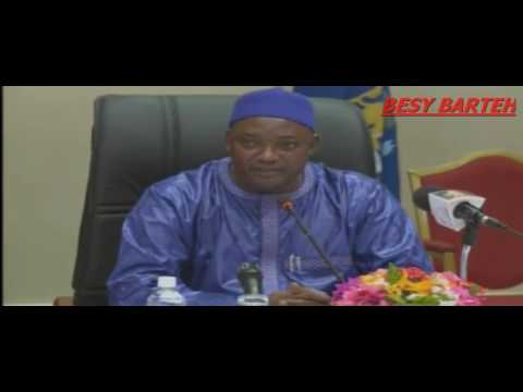 TAMBEDU APPOINTED AS  THE NEW  ATTORNEY GENERAL AND JUSTICE MINISTER OF THE GAMBIA