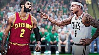 nba 2k17 celtics vs cavaliers ecf gameplay