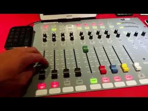 Sonifex S0 digital/analog broadcast mixer