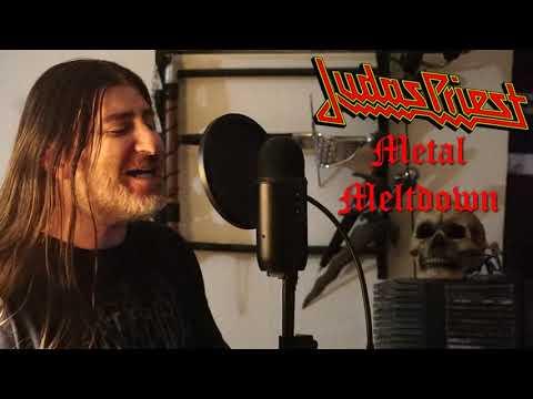 """Judas Priest """" Metal Meltdown """" ( vocal cover )"""