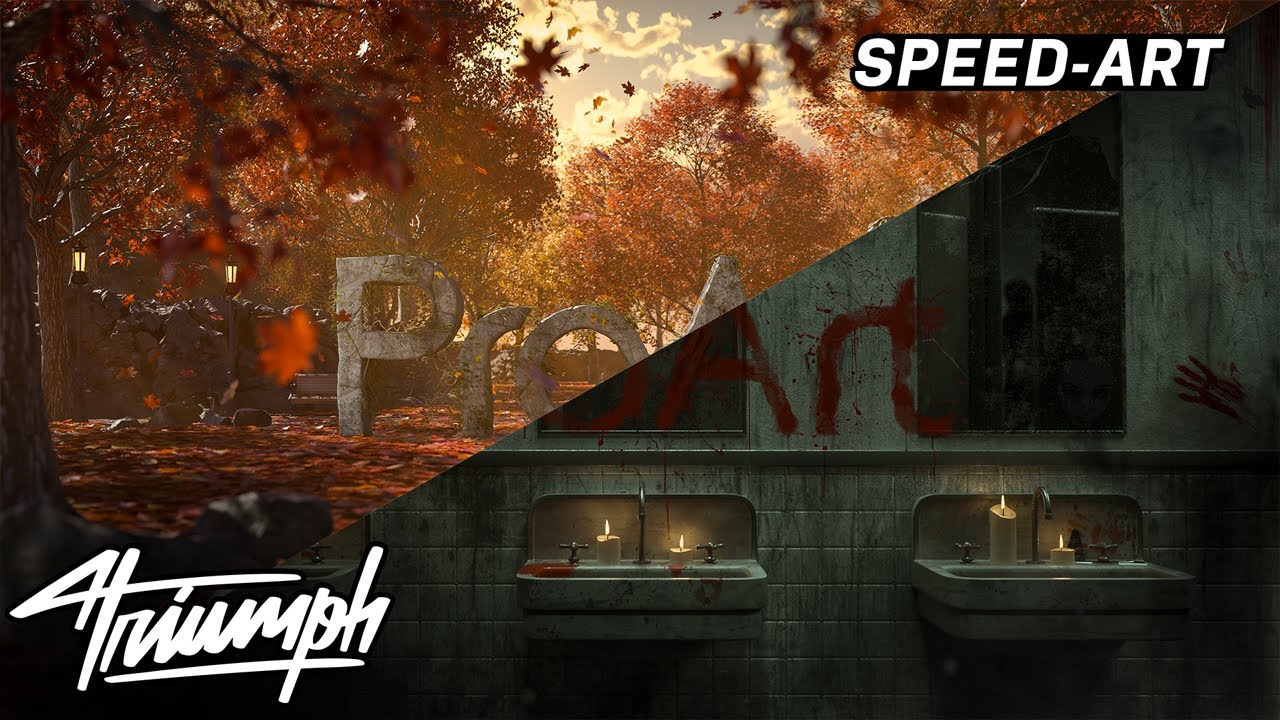 ProArt Halloween and Fall Wallpapers   Triumph