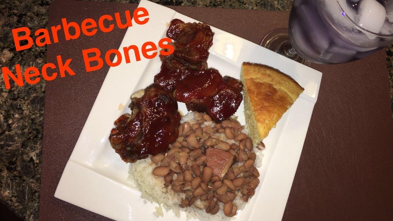 How To Make Barbecue Neck Bones Youtube