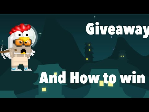 Giveaway!And How To Join
