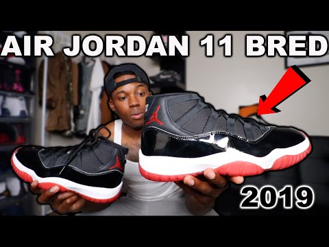 Air Jordan 11 Bred 2019 EARLY Review & Comparison *MUST WATCH*