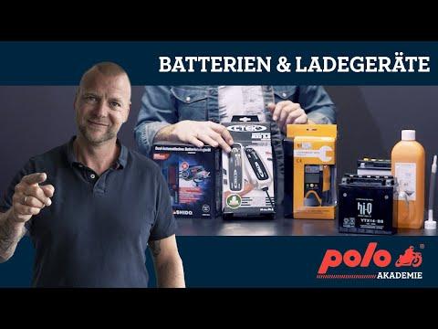 Motorradbatterien Und Ladegeräte