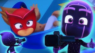 PJ Masks Deutsch Pyjamahelden Zeitlupe! | Cartoons für Kinder