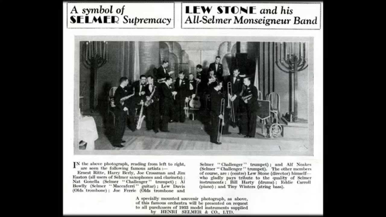 Al Bowlly With Lew Stone And His Band Al Bowlly With Lew Stone And His Band