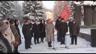 видео Памятник Скорбящий войн в Сыктывкаре
