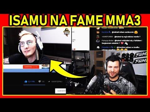🔥ISAMU W WALCE 2 vs 2 na FAME MMA 3🔥 - WOJTEK GOLA | SETON