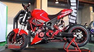 GPX Demon 125 รวมรถแต่ง ในงานมอเตอร์โชว์ 2017 : motorcycle tv thailand