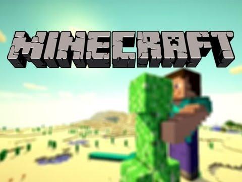 Minecraft steve hugs creeper mc speed build youtube - Minecraft creeper and steve ...