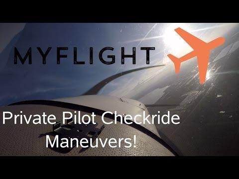 Private Pilot Checkride Maneuvers!-Episode 7!