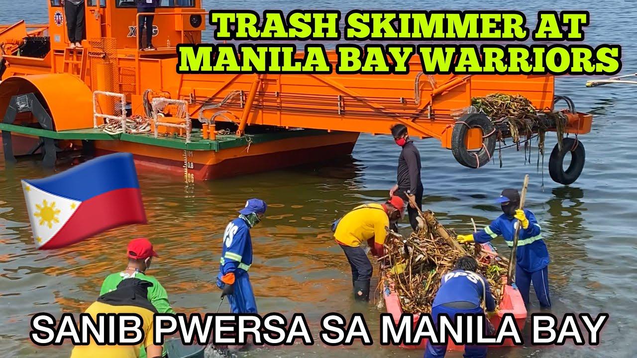 Download TRASH SKIMMER AT MANILA BAY WARRIORS SANIB PUWERSA!