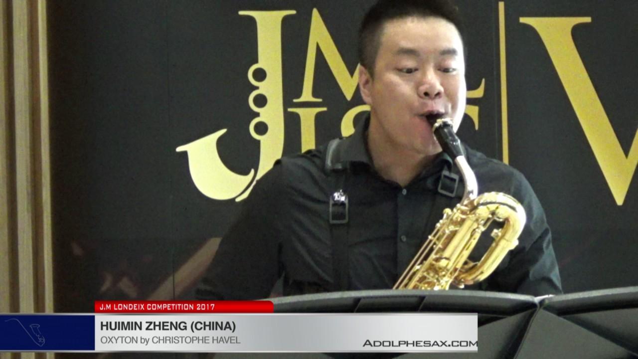 Londeix 2017 - Huimin Zheng (China) - Oxyton by Christophe Havel