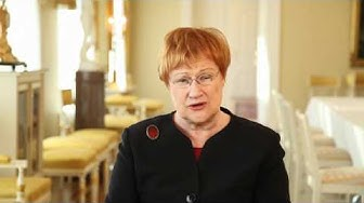 Video message from the President of Finland Ms Tarja Halonen