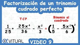Trinomio cuadrado perfecto ejemplo 9