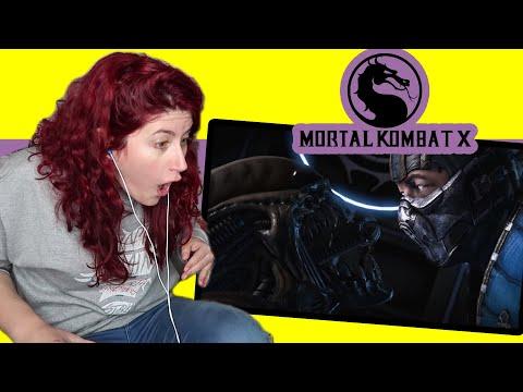 REACCION a  Alien, Leatherface, Triborg, Bo Rai Cho en MORTAL KOMBAT X