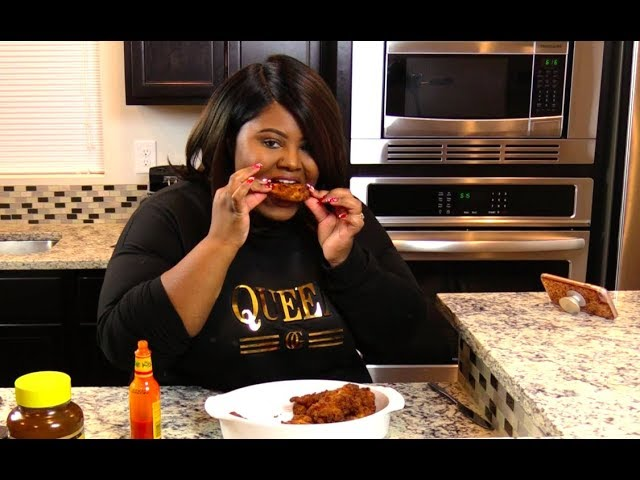 Waffle Fried Chicken Asmr Eating Fried Chicken I Heart Recipes