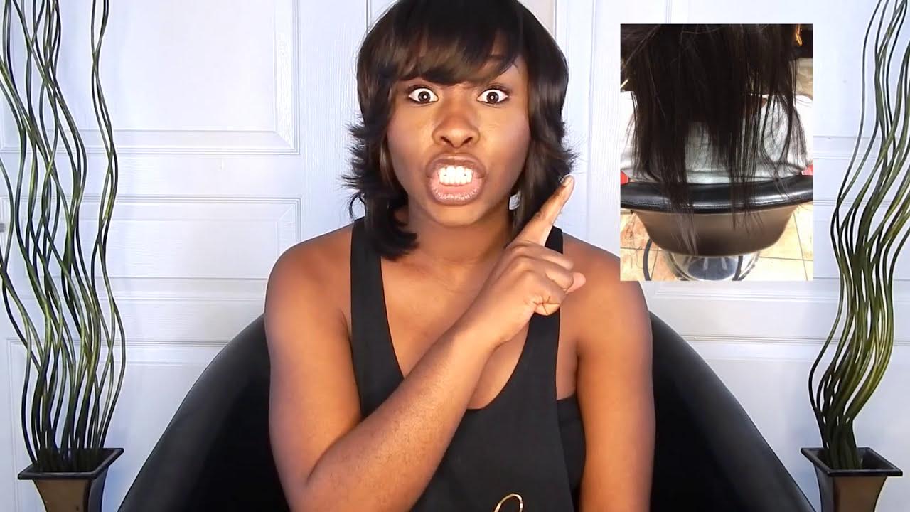 Transitioning to natural kinky hair