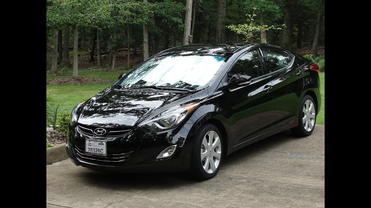 2013 Hyundai Elantra Limited 45 3 Mpg Walk Around 6 Speed Auto Leather 17in Alloy