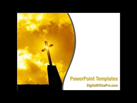 church powerpoint template backgrounds - digitalofficepro #00426, Modern powerpoint